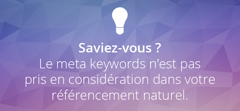 meta-keywords